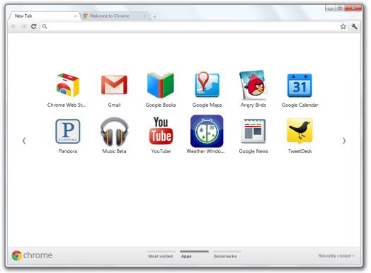 Google Chrome 15 Beta